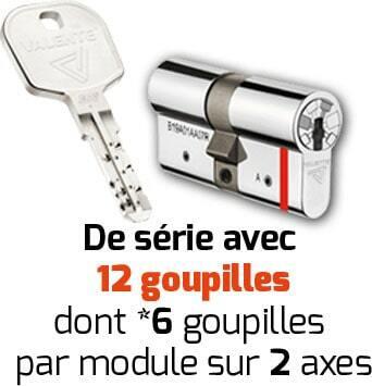 cylindre et clé A2P***