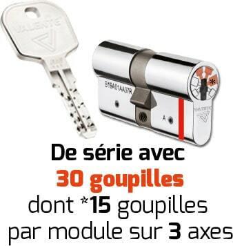 clé et cylindre pro star certification A2P***