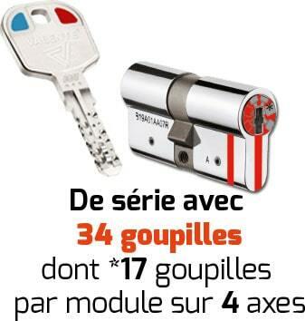 clé et serrure valente securystar mobile code 2 A2P***