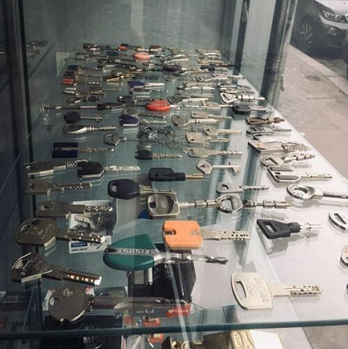 clés CYC serrures toutes marques