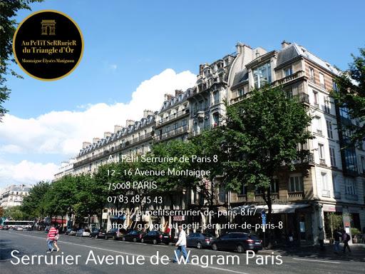 Serrurier Avenue de Wagram Paris Artisan serrurier spécialiste du Dépannage & Installation de serrurerie…
