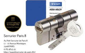 CyLindre ASSA ABLOY TESA T70 Anti Casse