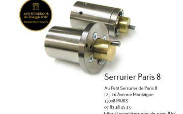 Cylindre adaptable CYC de type VACHETTES 3 points avec 3 clefs protégées