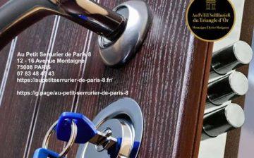 Artisan serrurier Paris 8