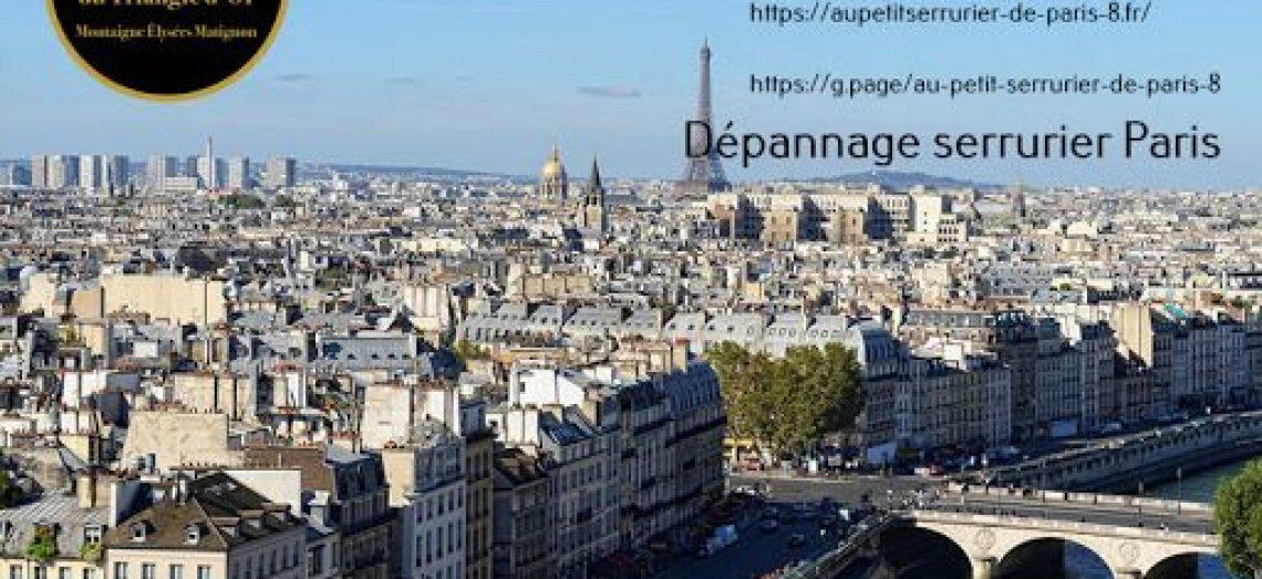 Dépannage serrurier Paris toute intervention, même la nuit. Serrurier Google certifié ( 126 avis…