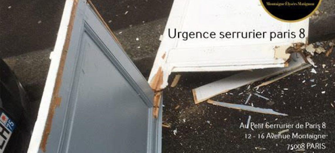 Urgence Serrurier Paris 8, Ouverture de portes et serrures, depannage et Entretien dans le…