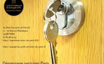 Dépannage Serrurier Paris Expert en Ouverture, Dépannage toutes marques, Réparation de Serrures. Intervention Rapide…
